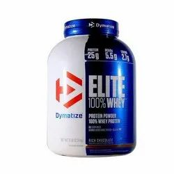 5 Lbs Dymatize Elite Whey Protein, Packaging Type: Plastic Container