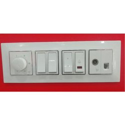 Polycarbonate Non Modular Electric Switch Board