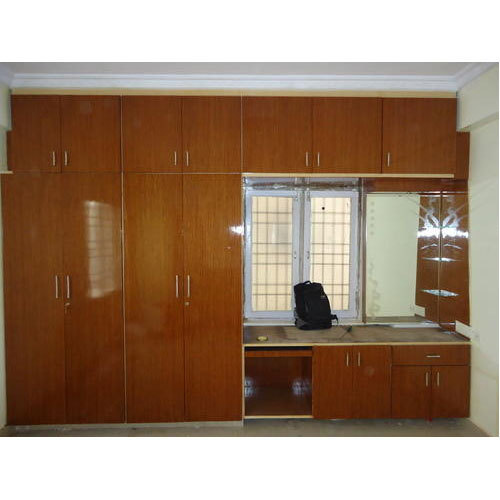 Abhi Interiors Visakhapatnam Manufacturer Of Bedroom Wardrobe Designs With Tv Unit