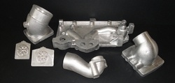 Silver Aluminium Die Castings Parts