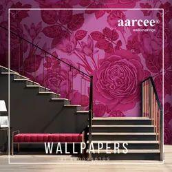 PVC Mosaic Wall Art Wallpaper, For Home