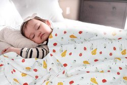 Organic Cotton Super Soft Baby Muslin Cloth Swaddle - 0-12 Months - 100x100 cm - Pack of 3