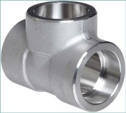Stainless Steel Socket Weld Unequal Cross