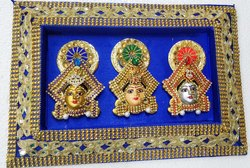 Durga Lakshmi Saravathi Golu Doll