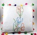 手工刺绣垫盖