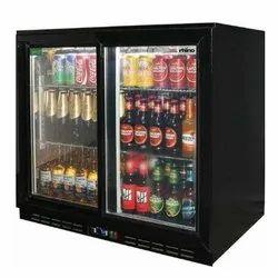 Double Door Refrigerator Back Bar
