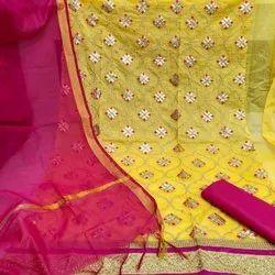Gota Ladies Dress Material