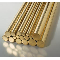 Round Brass Rods, Size: 1/2, for Industrial