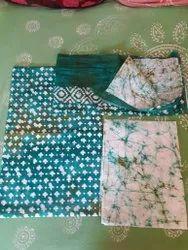 Cotton Batik Hand Block Suite Piece