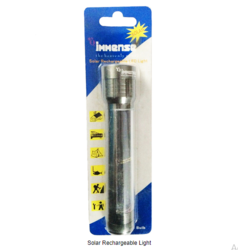 IMMENSE Solar Rechargeable Light Torch