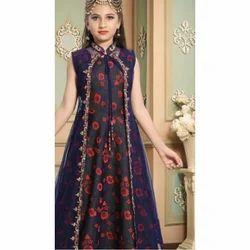 Georgette Girls Ethnic Fancy Wear