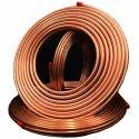 Copper Color Copper Tubes, Size: 1/4