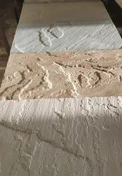 Sandstone Tiles with Brushed Finish for Wall Cladding