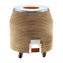 Brown Rope Tandoor With SS Top