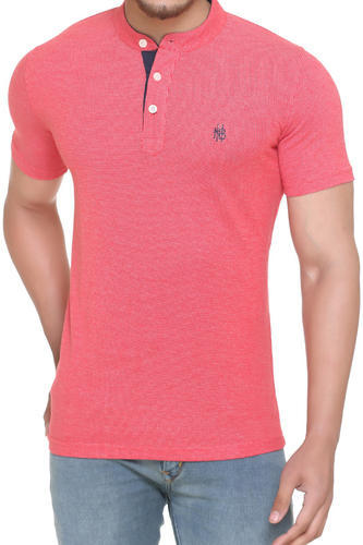wide selection of colours and designs lowest discount 2019 clearance sale Fashionable Henley Neck T Shirt For Men