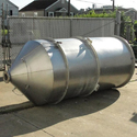 SS Cone Bottom Storage Tank