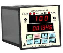 SFG Charge Discharge Ampere Hour Meter with Totaliser