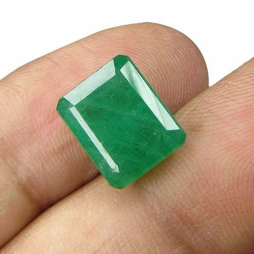 8 25 Ratti Natural Certified Emerald (panna) Gemstone