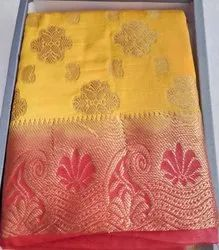 Silk 6 Clour Ladies Fancy Saree