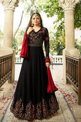 Ethnic Georgette Party Wear Gown