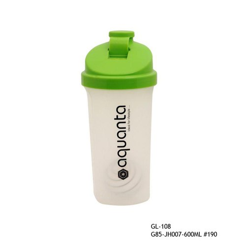 Gym Shaker Bottle with Blender Ball 600ml-GL-108-JH-007