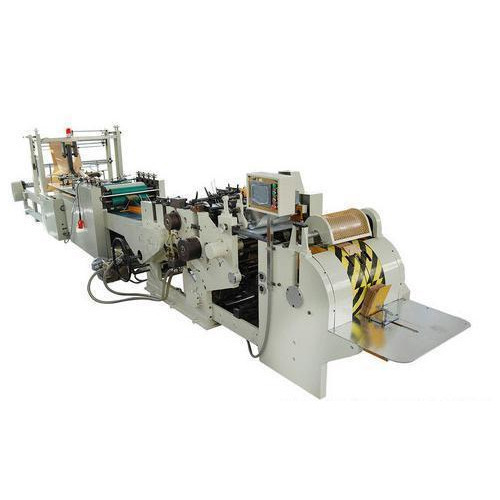 Fully Automatic 100-120 Grocery Paper Bag Making Machine, 220-240 V