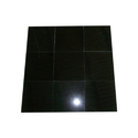 Toshibba Impex Black Jet Black Granite, 10-15 Mm