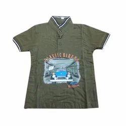 Essa Cotton Chinese Collar Kids T Shirt, Size: 1.5 years to 10 years