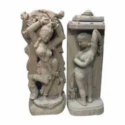 Mohini Stone Sculpture, For Interior Decor