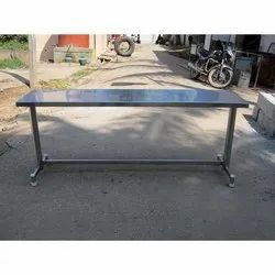 Rectangular Stainless Steel Work Table