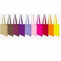 Vamasa Loop Handle Cotton Bag With Long Handles, Size/Dimension: 38x42 Cm