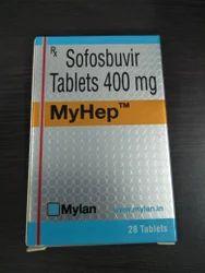 MyHep - Sofosbuvir Tablets 400 Mg