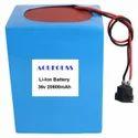 20800mAh 36V Li Ion Battery