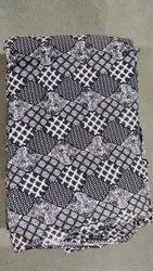 Printed Cotton Textile Fabric, Digital Prints, Multicolour