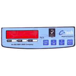 Matte Polycarbonate Weighing Machine Sticker, Packaging Type: Packet