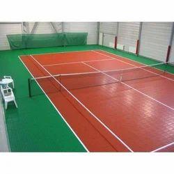 Indoor Tennis Court Flooring Service