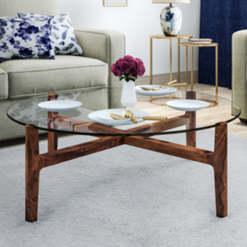 Living Roomz Wooden Tea Table Rs 3999 Piece Living Roomz Id