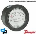 Dwyer 2-5000-25 MM Minihelic II Differential Pressure Gauge 0-25 MM WC