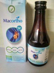 草药症状糖浆,包装类型:瓶子
