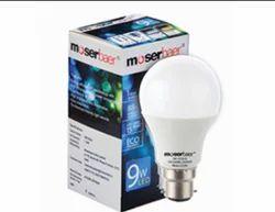 Moserbaer LED Bulb 9W Warm White Pin Type B22