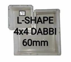 L-Shape Silicone Plastic Paver Mould42