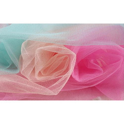 Polyester Pink And Blue Mosquito Net