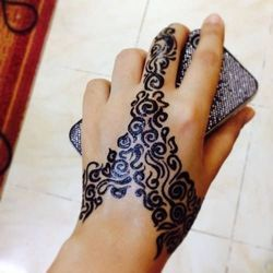 Black Henna Colours For Personal And Parlour Pack Size Pack Of 6