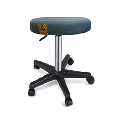 ESD Stool With Height Adjustable PU Star Base
