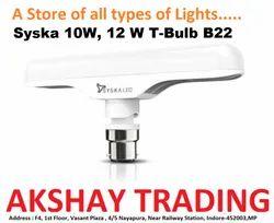 SYSKA 10W LED T- Bulb / 10W Syska LED Lamp / Syska LED T-Bulb B22