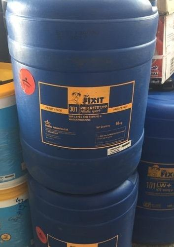 Cementitious Waterproofing Dr Fixit 301 Pidicrete Urp 50 Ltr For Roof Bathrooms Rs 7800 Piece Id 21009567455
