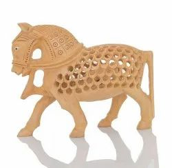Wooden  Marble Horse