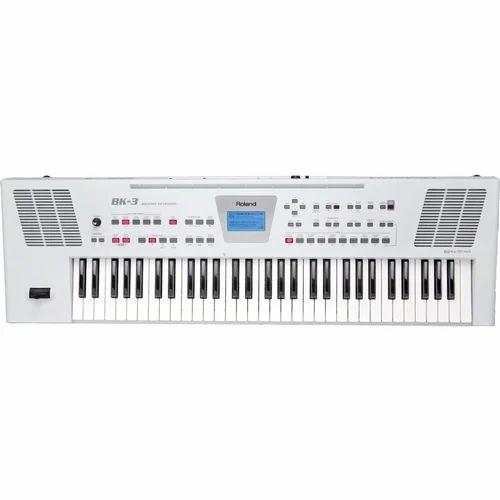 Roland Bk 3 Backing Keyboard White