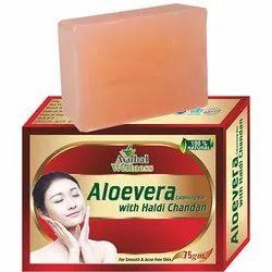 Aloe Vera Haldi Chandan Soap