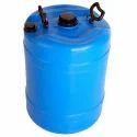 Hdpe Plastic Drum, Capacity: 120-150 L